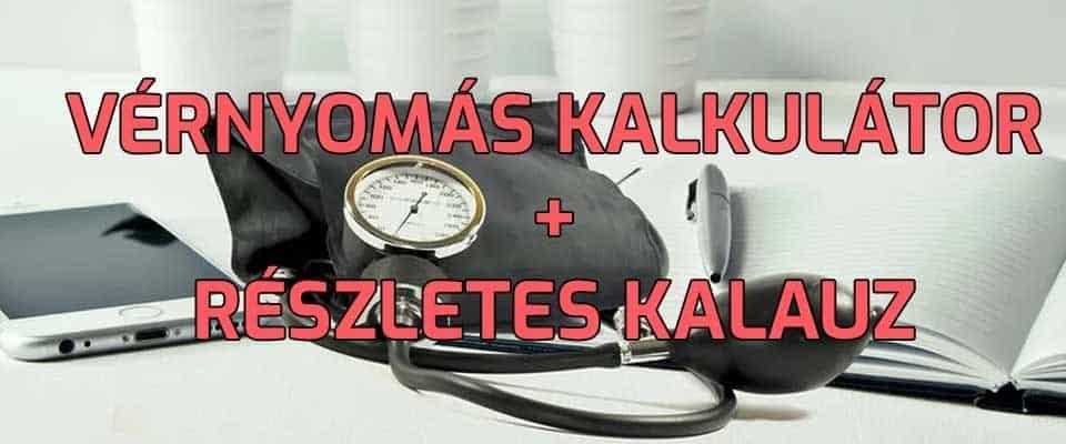Vérnyomás kalkulátor és kalauz