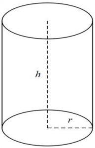 Henger felszín és térfogat kiszámítása, képlet + kalkulátor