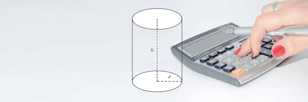 Henger térfogata és felszíne kalkulátor