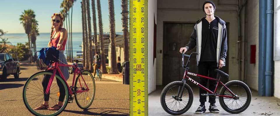 Kerékpár méret kalkulátor