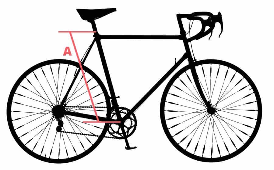Kerékpár átlépési magasság meghatározása