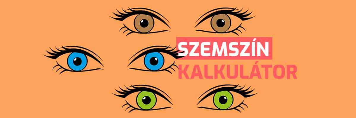 Szemszín kalkulátor - Milyen lesz a születendő baba szemének a színe?